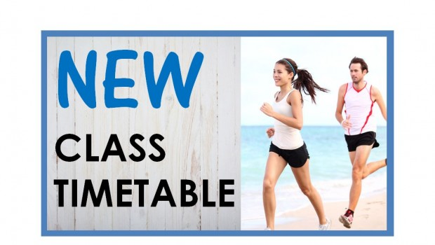 New Class Timetable – Class Timetable