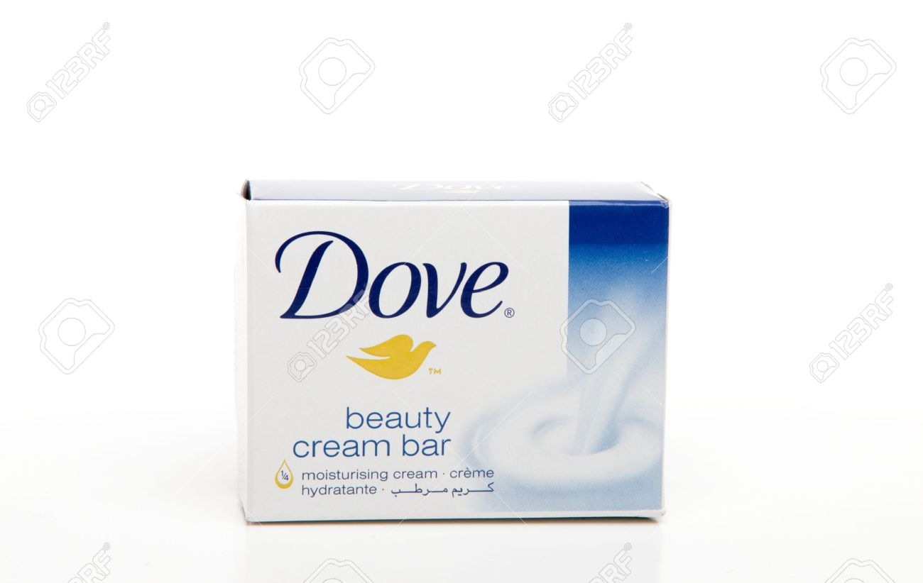 8770212-Dove-cream-soap-bar-Dove-soap-with-1-4-moisturizing-lotion-hydrates-and-nourishes-skin-Dove-is-manuf-Stock-Photo